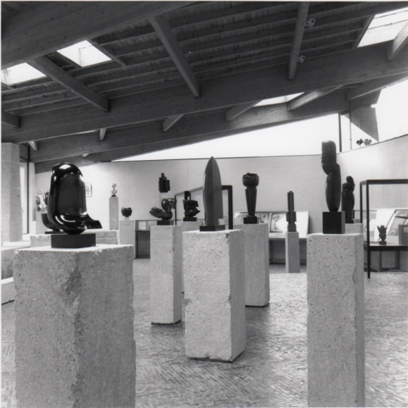 Exhibition at the Coubertin Foundation in 1992.