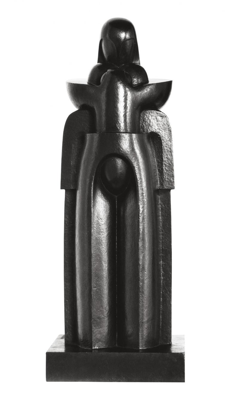 Jean Chauvin - Sculpteur - Maternité - Bronze - 1913