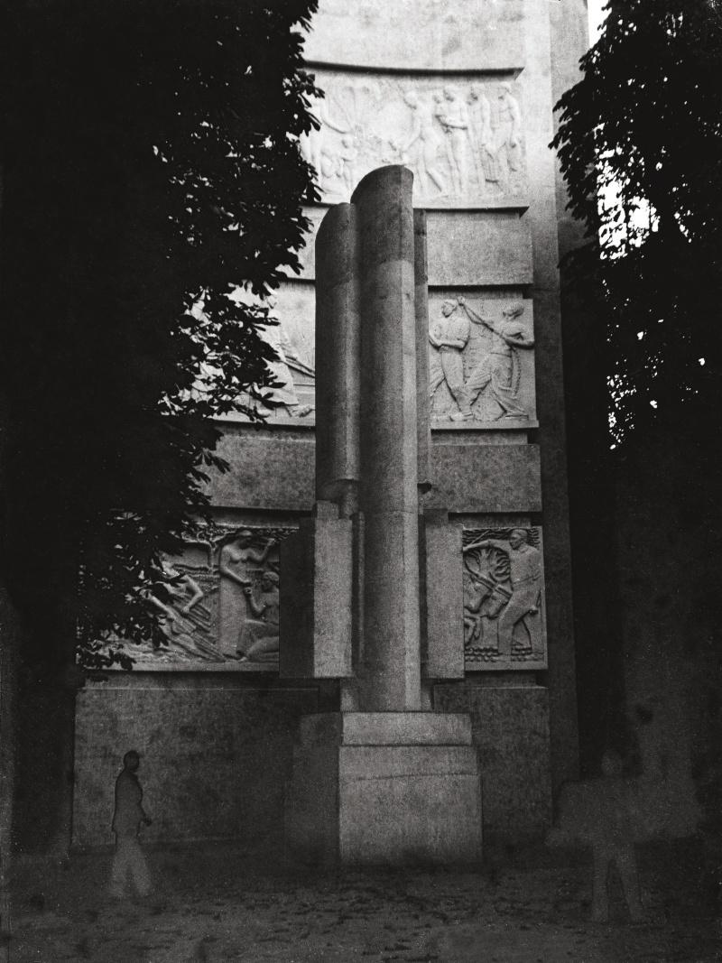 Jean Chauvin - Sculpteur - Sculpture Signal - béton - 1937