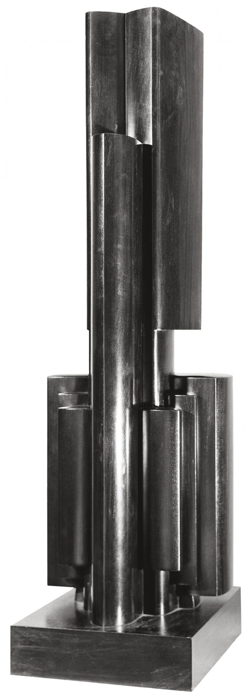Jean Chauvin - Sculpteur - Puissant et Solitaire - bois de Cuba - 1939
