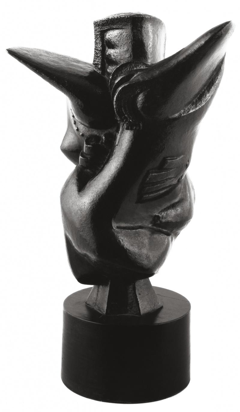 Jean Chauvin - Sculpteur - Don Juan - bronze - 1945